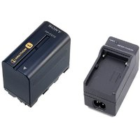 Compatible SONY NP-F970 With BATTERY CHARGER COMBO 6600MAH FOR COOL PIXEL CAMERA