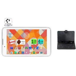 IKall IK1 with Keyboard (7 Inch, 4 GB, Wi-Fi + 3G Calling)