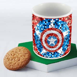 75 years Captain America Mug Officially Licensed (pack of 1)