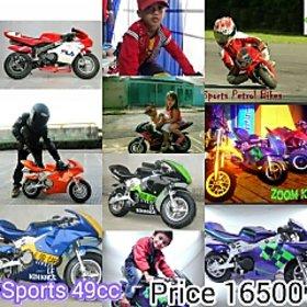 Kides Sports petrol 49cc Bike