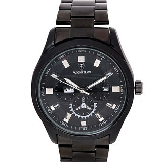 Oft-2009-Black-Black Analog Watch