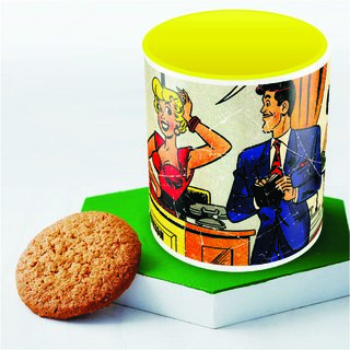 Comics fashion Mug Officially Licensed (pack of 1)