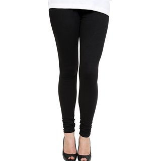 K.V Leggies Black Cotton Leggings