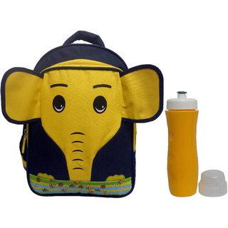 Combo RSC Elephant School Bag (Kids 4-9 years age) and Trueware Aqua Sipper  1182