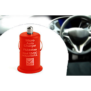 Gadget Hero's  Car  Nano For Phones Tablets  Any  Chargeable Device Red
