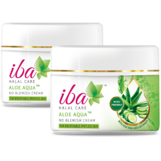 Iba Halal Care Aloe Aqua No Blemish Cream 50 gm (Pack of 2)