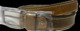 BATZ Mens Genuine Leather Belt Light Brown Colour