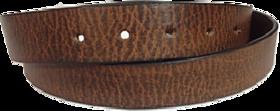 BATZ Mens Genuine Leather Belt Dark Brown Colour