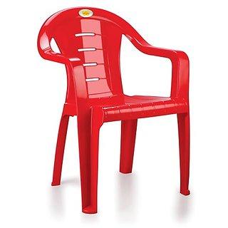 Combo Of 2 Nakoda Plastic Chair With Arm 1001-2