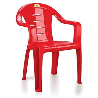 Combo Of 4 Nakoda Plastic Chair With Arm 1001-2