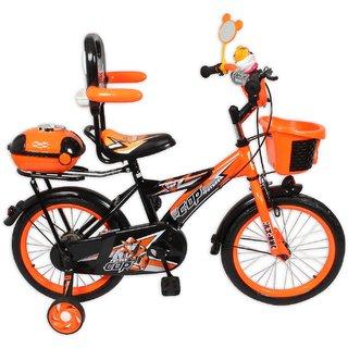 HLX-NMC KIDS BICYCLE 16 BOWTIE ORANGE/BLACK