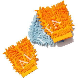 Microfiber Cleaning Glove Dusters Set of 3pcs