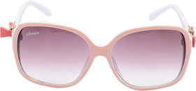 SunglassesAmaze WomenS Ovar Sized In Plastic  Uv Protection Am079-C01