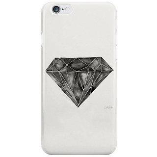 Dreambolic Black-Diamond Back Cover For Iphone 6S Plus