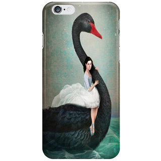 Dreambolic Black-Swan Back Cover For Iphone 6S Plus