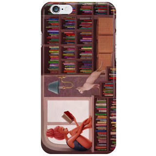Dreambolic Bookworm Back Cover For Iphone 6S Plus