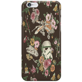Dreambolic Botanic-Wars Back Cover For Iphone 6S Plus