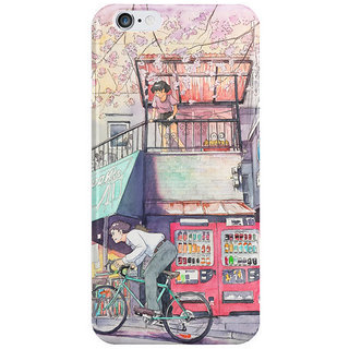 Dreambolic Bicycle-Boy Back Cover For Iphone 6S Plus