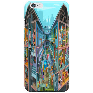 Dreambolic Budpapest-Bang-Summer Side Back Cover For Iphone 6S Plus