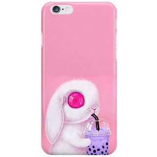 Dreambolic Bunny-Loves-Bubble-Tea Back Cover For Iphone 6S Plus