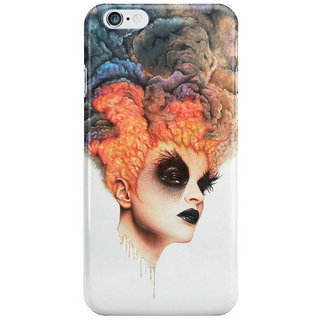 Dreambolic Burning-Girl Back Cover For Iphone 6S Plus
