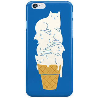 Dreambolic Cats-Ice-Cream Back Cover For Iphone 6S Plus
