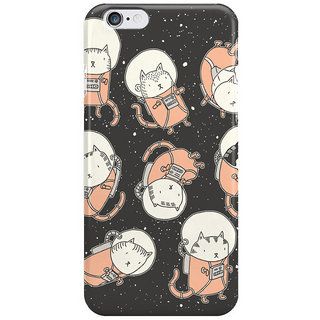 Dreambolic Cat-Stronauts Back Cover For Iphone 6S Plus
