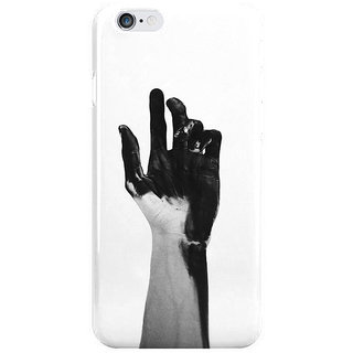 Dreambolic Charcoal-Hands Back Cover For Iphone 6S Plus