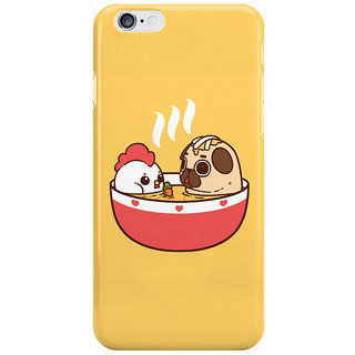 Dreambolic Chicken-Noodle-Puglie-Soup Back Cover For Iphone 6S Plus