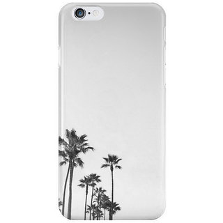 Dreambolic Black--White-California-Palms Back Cover For Iphone 6S Plus