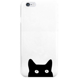 Dreambolic Black-Cat Peping Back Cover For Iphone 6S Plus