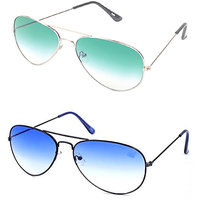 Magjons Aviator Sunglasses Combo Set of 2 With box MJ7710
