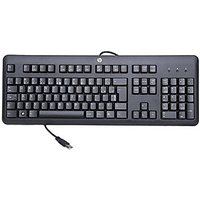 HP 672647-201 107-key USB Keyboard (Black)