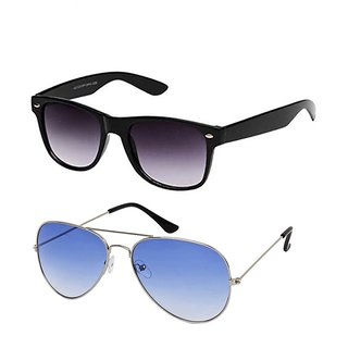 Magjons Aviator Sunglasses Combo Set of 2 With box MJ7787