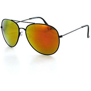 Magjons Yello Mirror Aviator Sunglasses for men with BoxMJ7806