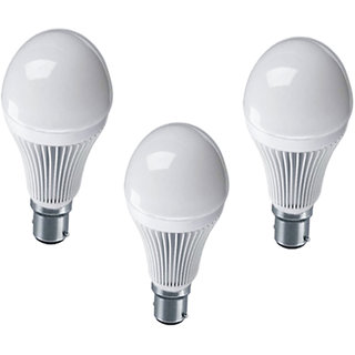 Nu Life 7 Watt Led Bulb, Pack Of 3 (195)