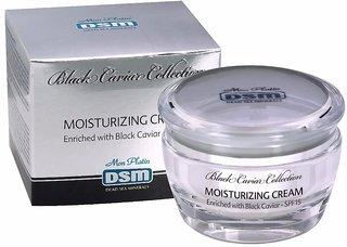 Dead Sea Minerals Moisturizing Cream Enriched with Black Caviar SPF15