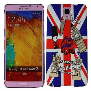 Heartly Flag Printed Design High Quality Hybrid Tough Armor Hard Bumper Back Case Cover For Samsung Galaxy Note 3 N9000