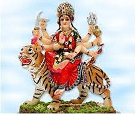 Sherawali Mata Murti (Idol) size 7 cm height x 6 cm base