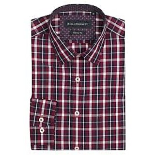 888e8b97014 Buy Red and Blue Check Shirt Online - Get 14% Off