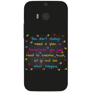 Garmor Designer Silicone Back Cover For Htc One M8 786974256772