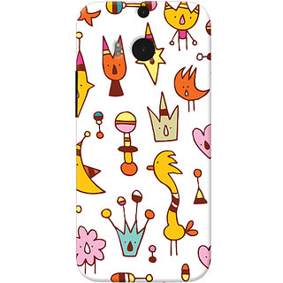 Garmor Designer Silicone Back Cover For Htc One M8 6016045696454