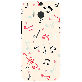 Garmor Designer Silicone Back Cover For Htc One M8 786974257809