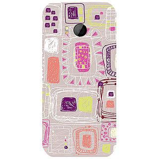 Garmor Designer Silicone Back Cover For Htc One M8 Mini 786974259568
