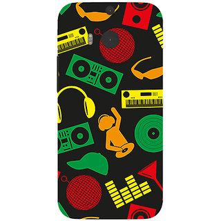 Garmor Designer Silicone Back Cover For Htc One M8 786974257755