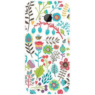 Garmor Designer Silicone Back Cover For Htc One M8 Mini 786974259612