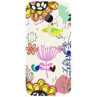Garmor Designer Silicone Back Cover For Htc One M8 Mini 786974259766
