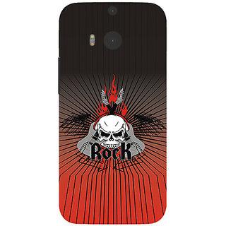 Garmor Designer Silicone Back Cover For Htc One M8 786974257847
