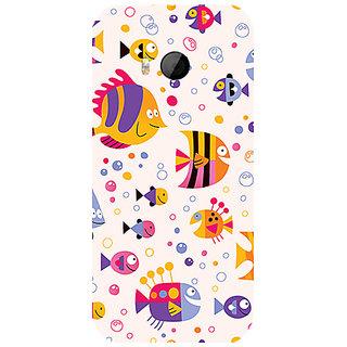 Garmor Designer Silicone Back Cover For Htc One M8 Mini 786974259551