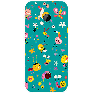 Garmor Designer Silicone Back Cover For Htc One M8 Mini 786974259544